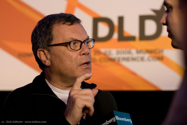 Sir Martin Sorrell by Eirik Solheim, on Flickr