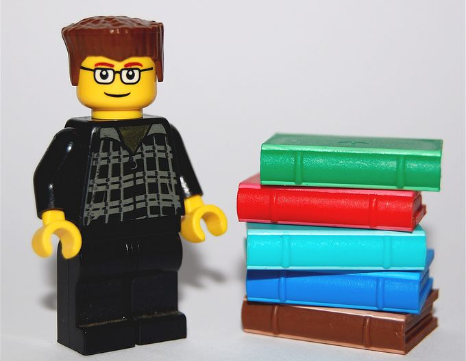 Minifig Bloggers #2: Cory Doctorow by thom, on Flickr