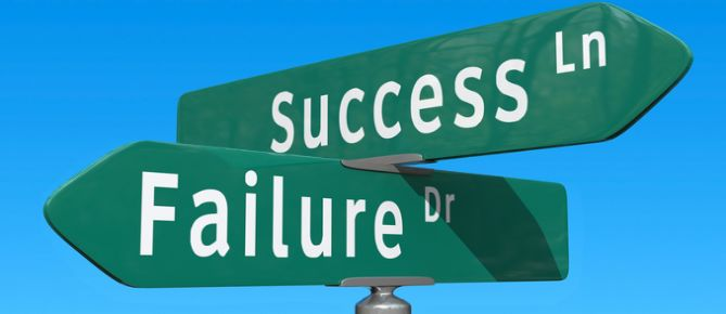 Crossroads: Success or Failure by Chris Potter, on Flickr - https://www.flickr.com/photos/86530412@N02/8226451812